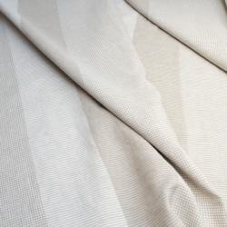Závěs, přehoz nebo ubrus Uki-Kuba, komponované pruhy bílorežná, 280 x 150 cm, len