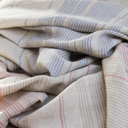 len, lněná látka, lněná metráž, kanafas, český textil, lněné, lněný