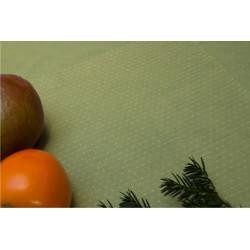 Limetka tm.zelená s hvězdičkami, š.140cm, bavlna - 1