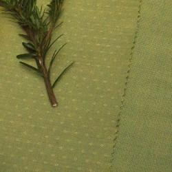 Limetka tm.zelená s hvězdičkami, š.140cm, bavlna - 2