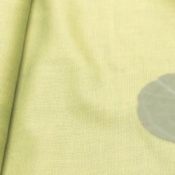 Uni Limetka s vazbou Oxford zelená, bavlna