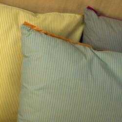 Polštář zelený, 45x45 cm, bavlna