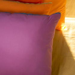 Polštář fialový, 45x45 cm,...