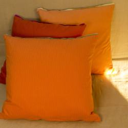 Polštář oranžový, 45x45 cm,...