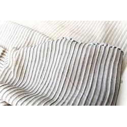Lněnítko indigo-režno-bílé, 160cm, len